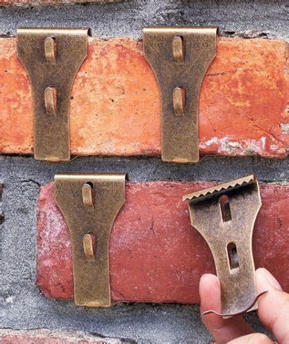 where to buy brick clips set 4 brick clip fastener hangers wreath holder decoration wall fireplace hooks ebay