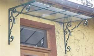 Marquise De Porte Ancienne : marquises et pergolas en fer forg ou acier lyon ~ Dailycaller-alerts.com Idées de Décoration