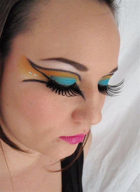 Tron - inspired makeup look by Erin Kinney   Artistry ...