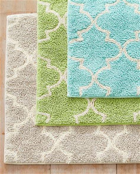 yellow bathroom rugs garnet hill ch 226 teau cotton bath rug in birch so as to 1207