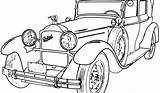 Coloring Drawing Cars Outline Printable Line Drawings Classic Zum Autos Ausdrucken Google Detailed Clipart Ausmalbilder Erwachsene Colouring Automobile Sketch Colorear sketch template