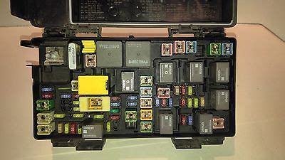 Fuse Box For Dodge Ram 1500 by 2011 Dodge Ram 1500 2500 Power Module Fuse Box