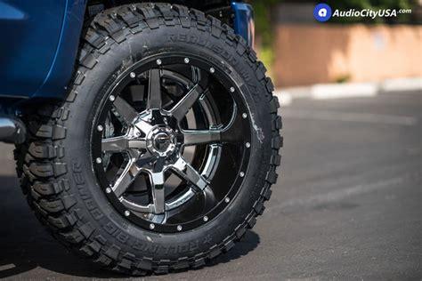fuel wheels  maverick chrome  gloss black lip