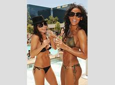 Mel B Celebrates Birthday with Kelly Monaco at WET REPUBLIC