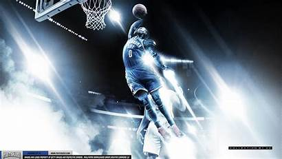 Westbrook Russell Nba Dunking Wallpapers Posterizes 1080