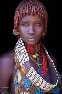 Beautiful African Woman Tribe