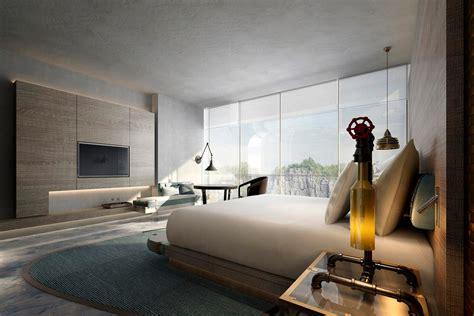 unusual hotels intercontinental shanghai wonderland  abandoned quarry china