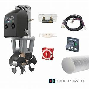 Marine Bow Thruster Se 80 185 T Side Power With