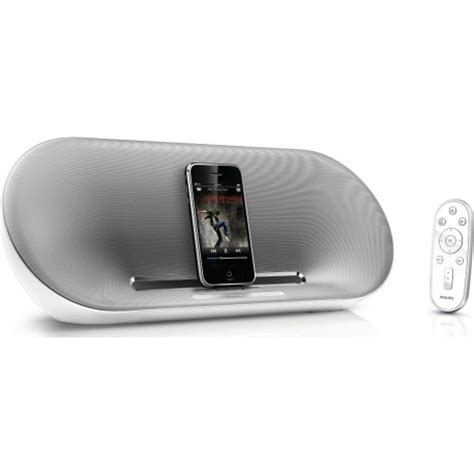speaker dock with remote for ipod iphone philips fidelio ds8500