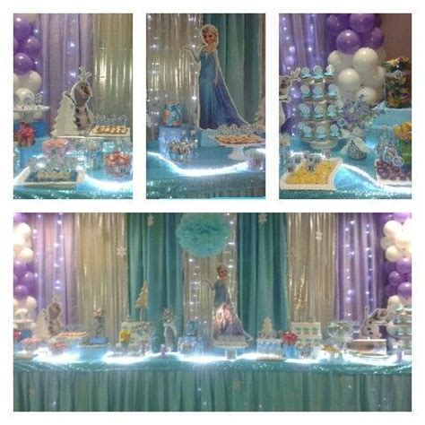 Frozen Party Decoration Ideas Pinterest
