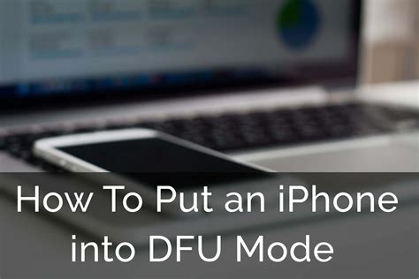 how to put iphone into how to put ipod touch and iphone into dfu mode 2018