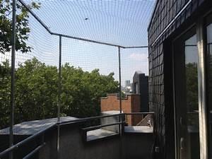 katzennetz fur balkon in dusseldorf angebracht With katzennetz balkon mit sarah s garden