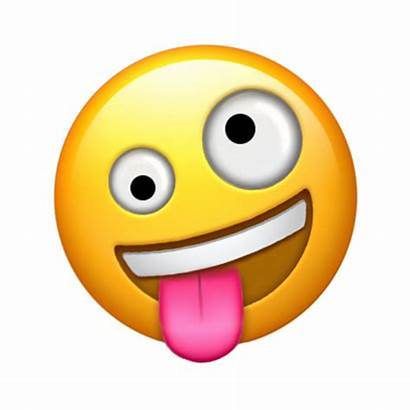Emoji Crazy Face Coming