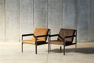 Chaise Industrielle Cuir : fauteuil andy style industriel arteslonga ~ Teatrodelosmanantiales.com Idées de Décoration