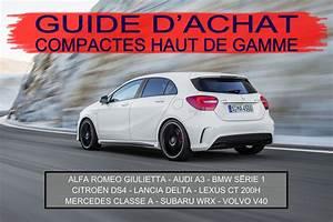 Produit Entretien Voiture Haut De Gamme : guide d 39 achat compactes haut de gamme ~ Maxctalentgroup.com Avis de Voitures