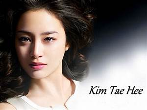 Korean Actress Kim Tae Hee Picture Portrait Gallery