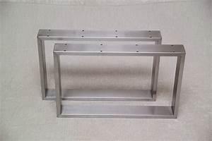 Couchtisch Beine Metall : stahl tischkufen edelstahl metallbau stelzer ~ Indierocktalk.com Haus und Dekorationen
