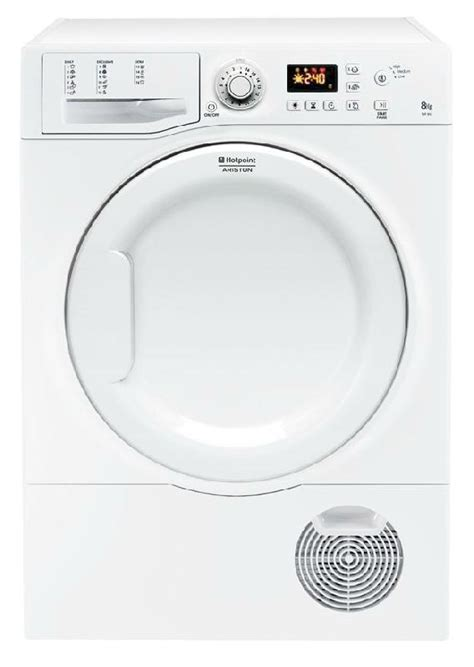 hotpoint ariston seche linge evacuation 8kg tvf85cp sk tvf 85 cp sk