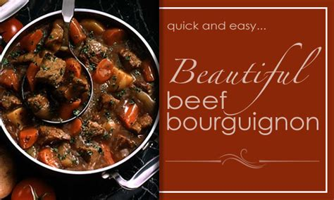 no fuss no muss crockpot cooking crockpot beef bourguignon