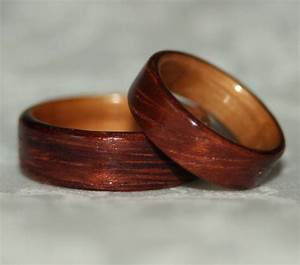 wooden wedding rings with liner custom woods of your choice With wooden wedding ring