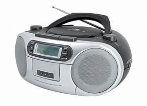 Cd Kassetten Radio : cd kassetten radio in 2 farben soundsysteme bader ~ Kayakingforconservation.com Haus und Dekorationen