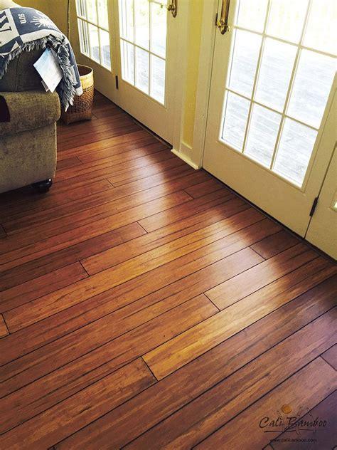 hand scraped bamboo floors  cali bamboo wide click