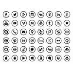 Icons Social Icon Aesthetic App Titanui Sets