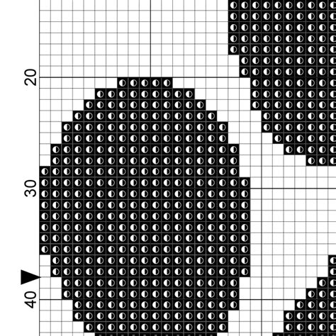 paw print black cross stitch pattern daily cross stitch