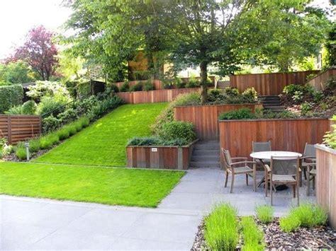 giardino terrazzato giardino terrazzato tuin terrazza con giardino