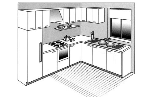 cuisine ouverte en l 12 plans pour une cuisine ouverte côté maison