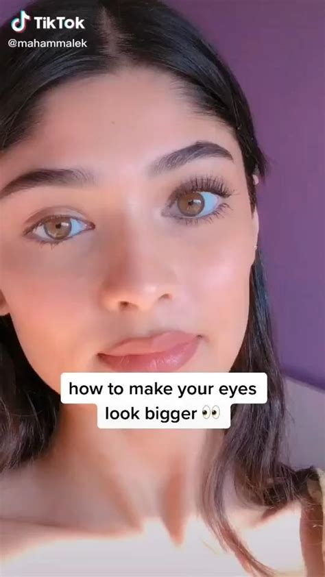 eye  bigger makeup tutorial video   natural eye makeup natural