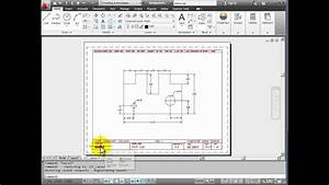 Autocad 2012 Tutorial 1 5 - Model And Layout Tabs