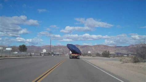 UFO on truck-bed near Area 51 - YouTube