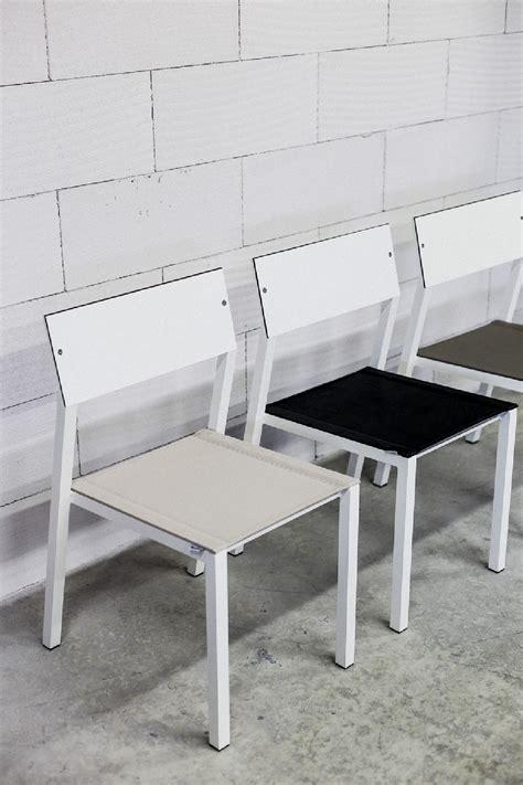 Chaise Cora, Extérieur De Jardin En Métal Aluminium De
