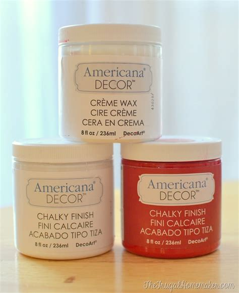 Americana Decor Chalky Finish Paint In Everlasting by Chalky Painted Jars And Tablescape