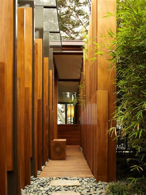 mur de bambou exterieur comment planter des bambous dans jardin archzine fr