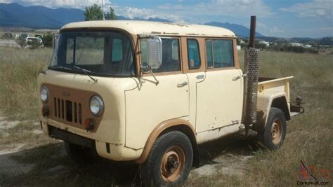 jeep willys military fc     control  rare runs great
