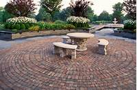 lovely patio design ideas with pavers Eco-Friendly: Beautiful Large Garden Designs Ideas With ...