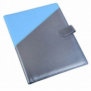 buy coi blue silver and black yellow leatherite file With document files and folders