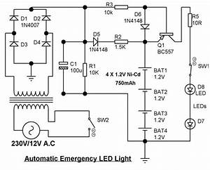 Automatic Emergency Led Light