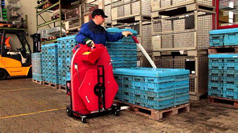 semi automatic pallet strapping system youtube