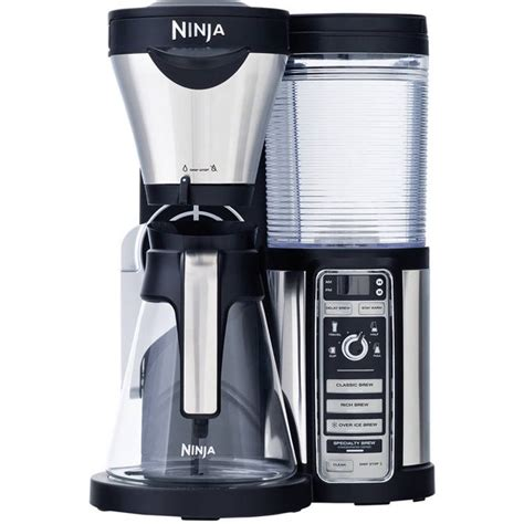 It will start to brew and then about 10 seconds. Ninja Coffee Bar Auto-iQ Brewer with Glass Carafe - Walmart.com - Walmart.com