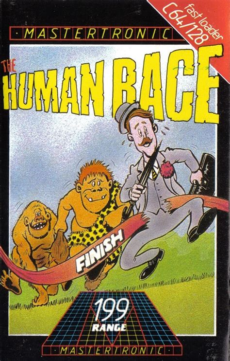 The Human Race for Commodore 64 (1985) - MobyGames