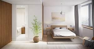 chambres a coucher contemporaines d39ambiance harmonieuse With tapis chambre bébé avec livraison fleurs plantes