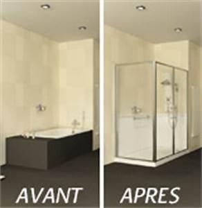 Transformer Une Baignoire En Douche : transformez votre baignoire en douche s curis e ~ Farleysfitness.com Idées de Décoration