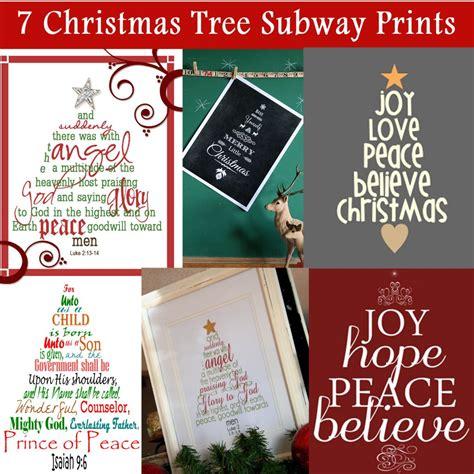 christmas tree word scripture printables  mom