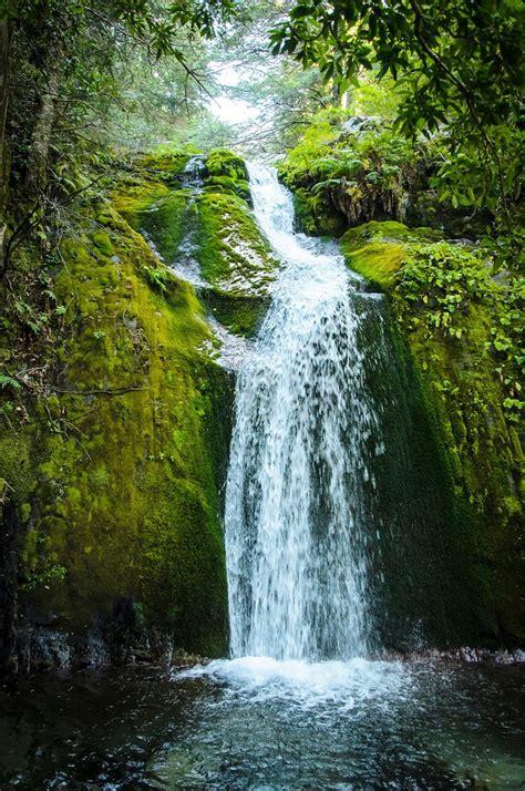 eerie waterfall wall mural photo wallpaper photowall