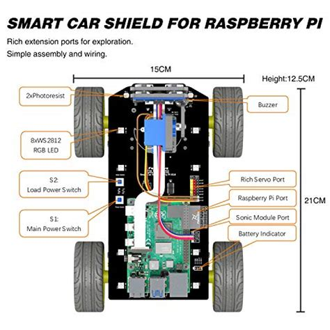 The bitcoin tracker can display information such as price, bitcoins in circulation, no. Freenove 4WD Smart Car Kit for Raspberry Pi 4 B 3 B+, Face Tracking, L