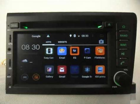 android auto dvd system  volvo    car gps