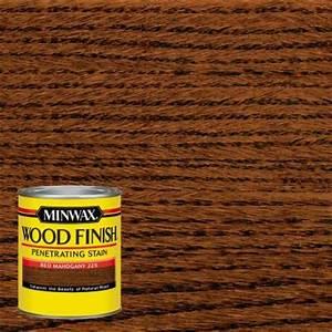 Minwax 1 qt Wood Finish Red Mahogany Oil-Based Interior